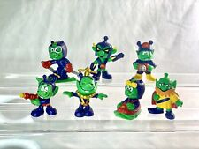 Lot of 7 VINTAGE Schaper Astrosniks - 1984 McDonald's Toy