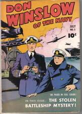 Don Winslow of the Navy Comic Book #5 Fawcett 1943 FINE+