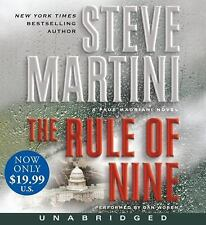 The Rule of Nine 2010 by Martini, Steve 0062008536 . EXLIBRARY