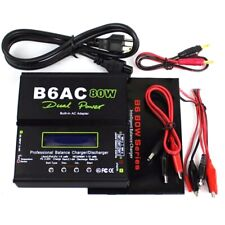 IMAX B6AC Digital 80W 1-6S RC Lipo Battery Balance Charger Discharger for  T7L7