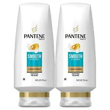 Pantene Argan Oil Conditioner for Frizz Control Smooth & Sleek 24 Fl Oz - 2 Pack