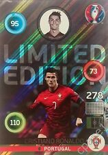 Limited Edition SHINY - Ronaldo - Panini Adrenalyn XL UEFA Euro 2016 France