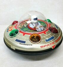 Vintage Masudaya X-7 Space Ship Tin Toy Never Used NEW