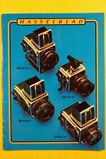 HASSELBLAD 500EL/M, SWC/M, 2000 FC, FC/M, 500C/M, Katalog 28 S., Zubehör! 1981!