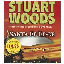 Santa Fe Edge by Stuart Woods (Ed Eagle Novel Series) NEW Unabridged Audio CD