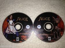 American McGee's Alice  (PC, 2000) - 2 Discs ONLY no Case or Inserts