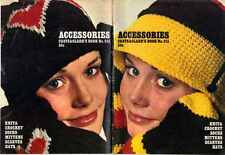 CROCHET Knit PATTERNs with SOCKS Hats SCARVES Mittens ARGYLE Juliet KNEE SOCKS
