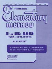 Rubank Elementary Method Bass Tuba B.C. Elementary Method NEW 004470080