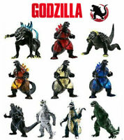 10 Godzilla Action Figures Kid Child Boy Figurines Playset Cake Decor Topper Toy