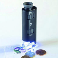 Microscopio zoom con luz LED 60x 100 aumentos Ref. 313 090