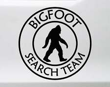 Bigfoot Search Team Sasquatch Mythology | Die Cut Vinyl Sticker Decal Laptop Car