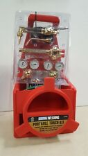 Portable Oxy Oxygen Acetylene Torch Weld Welder Tool Kit with Tanks, Regulator