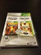 Saints Row: Double Pack  -- Microsoft Xbox 360 -- C+ CONDITION
