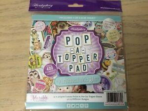 Hunkydory Pop-a-Topper Pad 'Animal Magic' NEW & UNUSED