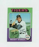 1975 Topps Mickey Stanley #141 Baseball Card Detroit Tigers HOF