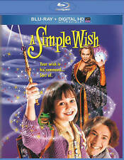 A simple wish NEW Bluray disc/case/cover only-no digital Plummer Pastorelli