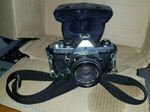 Pentax Asahi ME Kamera mit 3 Objektiven