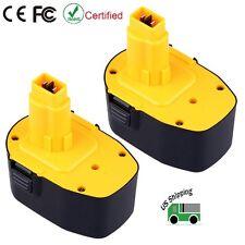2 Pack New Ni-CD 14.4V 3.0Ah Battery for Dewalt DC9091 DW9094 DW9091 Power Tool
