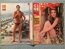 Ciné Revue n 18 1967 Claudine Auger Vanessa Redgrave Alain Saury Jean Shrimpton