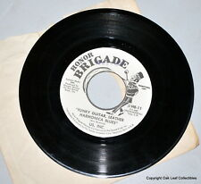 45 RPM DJ US, INC Funky Guitar Leather Harmonica Blues Honor Brigade Psyche Rock