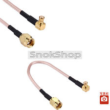 CAVO CABLE ADAPTER PIGTAIL MCX male to SMA MALE COAXIAL CABLE RG316 L. 15cm