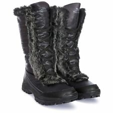 Trespass  Coretta Women`s Waterproof Snow Boots In Black Winter Warm