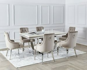 Rectangular Marble Dining Tables For Sale Ebay