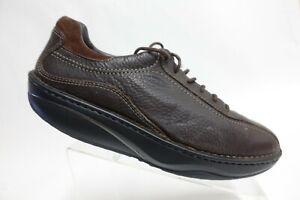 MBT Ajabu Brown Sz 13 (47 EU) Men Leather Lace-Up Oxfords