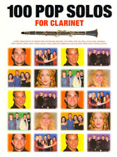 100 Pop Solos for Clarinet aktuelle Pop Songs Solos Noten f Klarinette u Gitarre