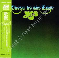 YES CLOSE TO THE EDGE CD MINI LP OBI Jon Anderson Steve Howe Rick Wakeman new