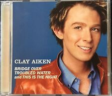 Bridge Over Troubled Water/This Is The Night [Single] by Clay Aiken (CD, Jun-200