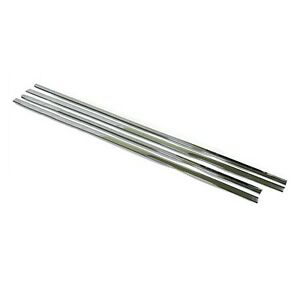Garnish Trim Chrome Molding Window Accent 4p For 11 12 Chevy Orlando 4d USA Only