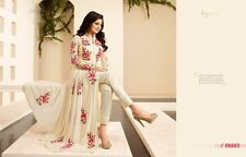 Asiatique/Indien/Pakistani Designer Anarkali mariage Salwar Kameez Suit/décousu