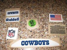 Dallas Cowboys  20 mil 3M vinyl full size football helmet decals