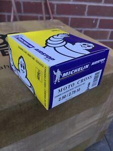 """Michelin motocross dirt bike tyre inner tube measures 2.5"""" x 10""""/2.75"""" x 10"""""""