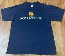 Barcelona FC Shirt Blue Soccer Futbol Medium