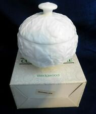 J- Wedgwood Bone China England Countryware  Marmalade Dish w/ Lid Org. Box