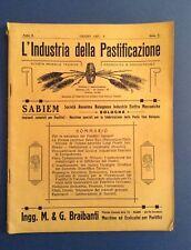 L'industria della pastificazione, pastificio, macchine per la pasta, Genova