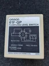 61F-GP OMRON FLOATLESS LEVEL SWITCH 110VAC