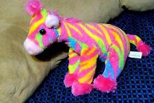 Aurora World Destination Nation Plush Giraffe, Rainbow