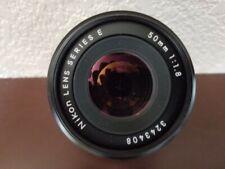 Nikon Lens Series E 50mm 1:1.8