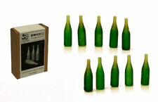 BadWolf Set Of 10 Champagne Bottles Resin Diorama Accessory - 1/43 Scale