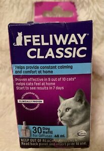 GENUINE Feliway Classic 30 Day Refill for Diffuser-exp 09/2024 (New damaged box)