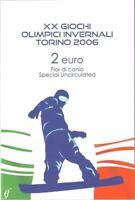 2 Euro Blister Coincard Italien 2006 Olympiade Turin