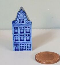 Blue Delft 'Mini' Miniature House Number /0 Collectable 4.75cms