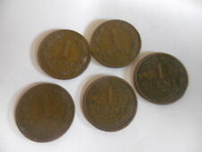(B126)-NEDERLAND-LOT DE 5 PIECES DE 1 CENT-1877 A 1917