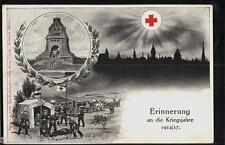 212.925 Leipzig, Roter-Kreuz-Opfertag 1917, Völkerschlachtdenkmal