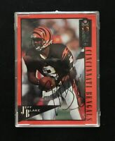 JEFF BLAKE 1994 CLASSIC AUTOGRAPHED SIGNED AUTO FOOTBALL CARD BENGALS