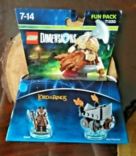 LEGO Dimensions Fun Pack Lord of the Rings Set 71220 Gimli