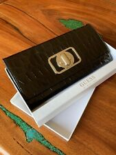 Guess Travel Wallet Black Brand New In Box